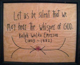 Whisper of God