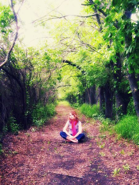 Trees path