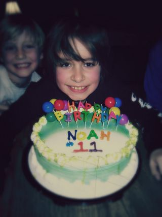 Noah 11th cake