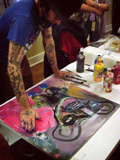 Jesse Reno artist chef challenge