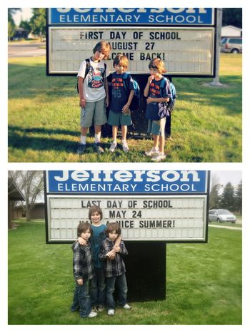 School year first and last 2012-2013