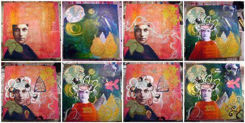 Art collab mosaic