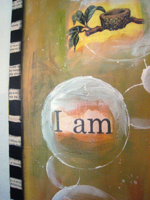 I am closeup